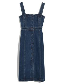 denim-covered-button-dress by madewell