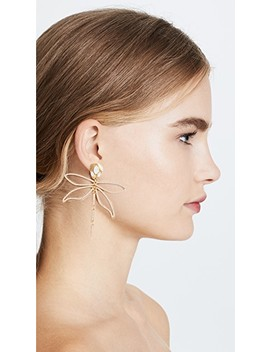 Small Embellished Dragonfly Earrings by Tory Burch
