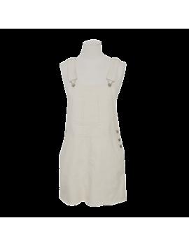 Fringed Hem Pinafore Dress by Stylenanda