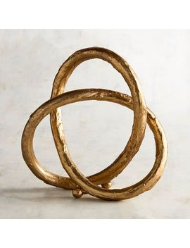 Golden Metal Knot by Pier1 Imports
