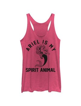 The Little Mermaid Women's Ariel Spirit Animal Racerback Tank Top by The Little Mermaid