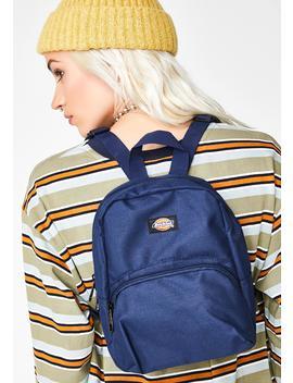 Navy Mini Backpack by Dickies