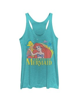 The Little Mermaid Women's Ariel Classic Racerback Tank Top by The Little Mermaid
