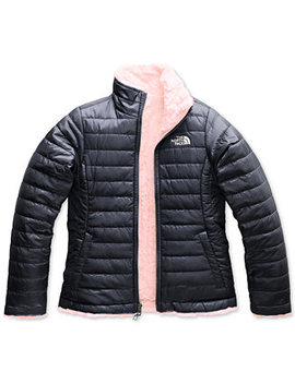 Reversible Mossbud Swirl Jacket, Little Girls & Big Girls by The North Face