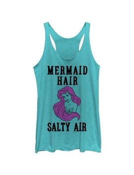 The Little Mermaid Women's Ariel Mermaid Hair Racerback Tank Top by The Little Mermaid