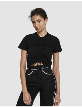 Maddie Ruched Crop Top by Which We Want