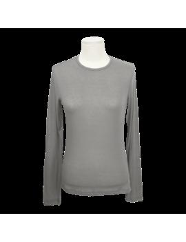 Extended Sleeve Sheer Single Tone T Shirt by Stylenanda