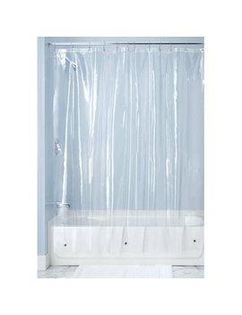 "Inter Design 10 Gauge Vinyl Shower Curtain Liner, 72"" X 72"" by Inter Design"