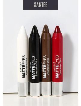 Santee Matte Eyes Jumbo Pigment Crayon by Santee