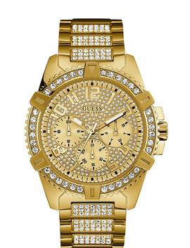Gold Tone Classic Style Watch by Guess