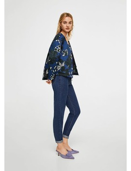 Quilted Reversible Jacket by Mango