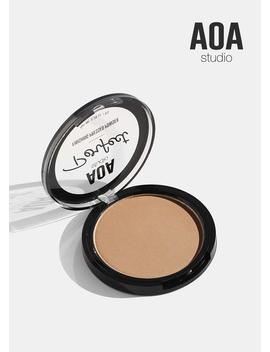 Aoa Perfect Pressed Powder  Almond by Shop Aoa