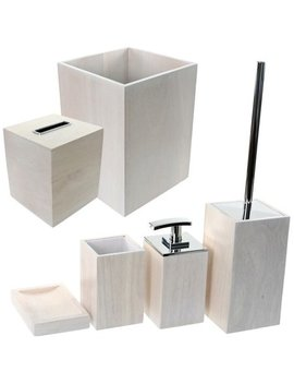 Gedy By Nameeks Papiro 6 Piece Bathroom Accessory Set by Gedy