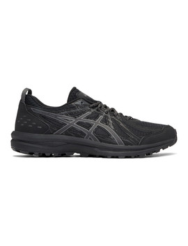 Black Frequent Trail Sneakers by Asics