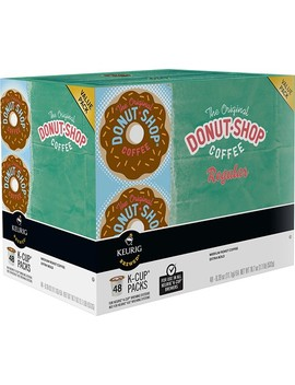 Regular K Cup Pods (48 Pack) by The Original Donut Shop
