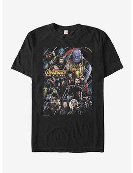 Marvel Avengers: Infinity War Character View T Shirt by Hot Topic