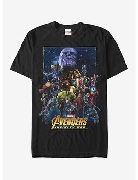 Marvel Avengers: Infinity War Character Collage T Shirt by Hot Topic