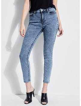 lucid-jungle-sexy-curve-skinny-jeans by guess