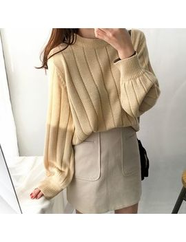 Plain Sweater by Natta