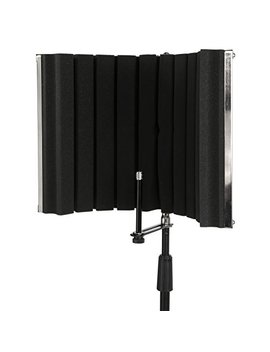 Lyx Pro Vri 30   Portable & Foldable Sound Absorbing Vocal Recording Panel   Stand Mount by Lyx Pro