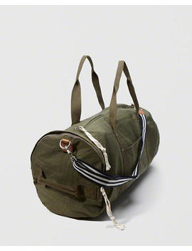 nylon-barrel-bag by abercrombie-&-fitch