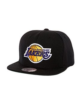 Mitchell & Ness Men's Los Angeles Lakers Wool Solid Snapback by Mitchell & Ness