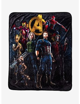 Marvel Avengers: Infinity War Throw Blanket by Hot Topic