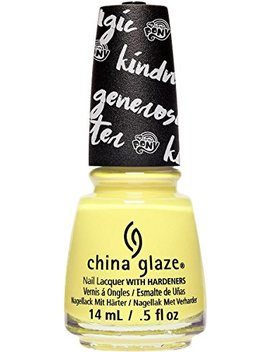China Glaze Kill 'em Wiith Kindness Nail Polish, 0.5 Oz by China Glaze