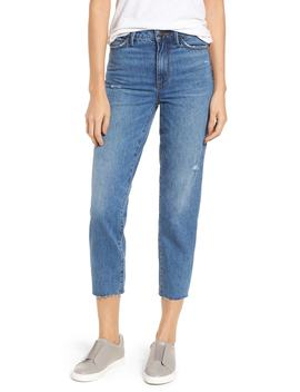 The Mary Jane Raw Edge Crop Jeans by Sam Edelman