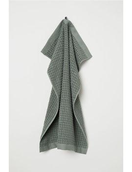 Jacquardvævet Håndklæde by H&M
