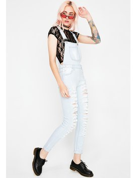 Rough Day Denim Overalls by American Bazi