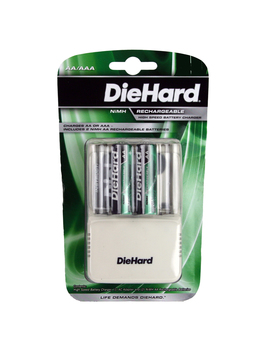 Die Hard 41 1168 Speed Charger With 2 Aa Ni Mh Batteries Die Hard 41 1168 Speed Charger With 2 Aa Ni Mh Batteries by Sears