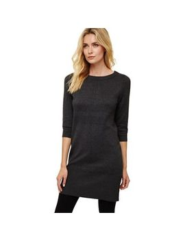 Phase Eight   Charcoal Marl Shiloh Exposed Seam Knit Dress by Phase Eight