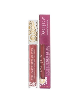 Pacifica Enlightened Gloss Ravish Mineral Lip Shine   0.10oz by Shop All Pacifica