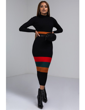 Get It If U Got It Knit Midi Dress by Akira