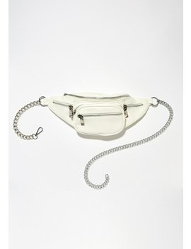 Money Talks Chain Fanny Pack by 3 Am Imports