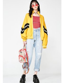 Road Trip Zip Up Jacket by Hello Miss