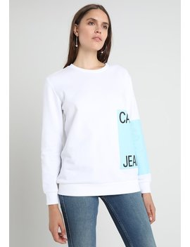 Relaxed Crew Neck   Genser by Calvin Klein Jeans