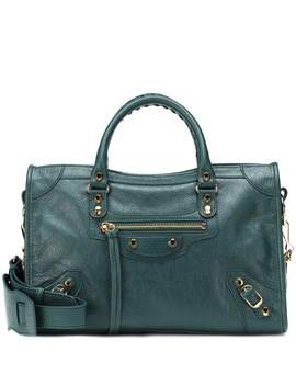 Classic City S Leather Shoulder Bag by Balenciaga