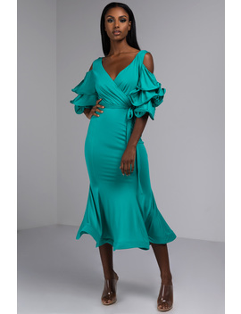 Dont Try This At Home Maxi Dress by Akira