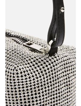 Chia Diamante Cross Body Bag by Topshop