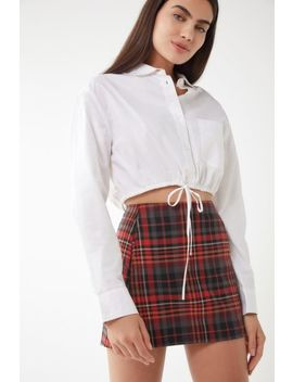 Uo Daisy Drawstring Cropped Top by Urban Outfitters