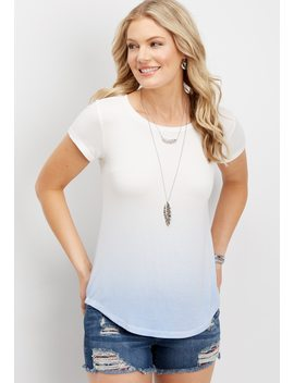 24/7 Ombre Tee by Maurices