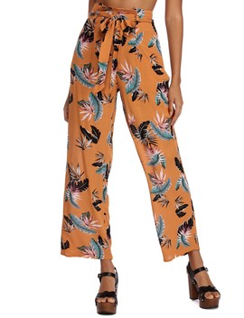 Tropical Getaway High Waist Pants by Windsor