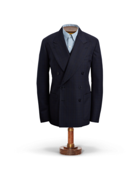 Windowpane Wool Sport Coat by Ralph Lauren