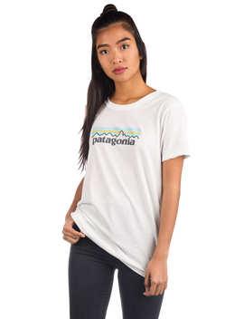 Pastel P 6 Logo Crew T Shirt by Patagonia