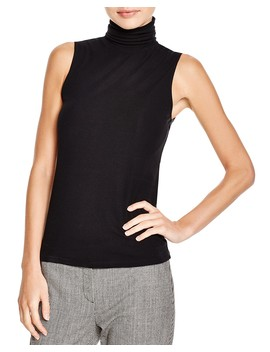 Wendel Sleeveless Turtleneck Top by Theory