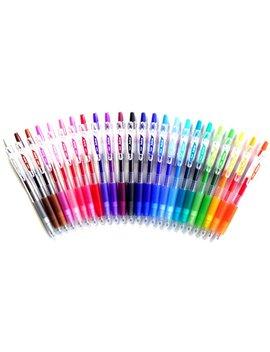 Pilot Uit Gel Ink Ballpoint Pen, 0.7Mm, 24Color Set (Japan Import) [Komainu Dou Originele Package] By Pilot by Amazon