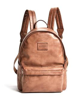 Kevin Logo Print Backpack by Guess