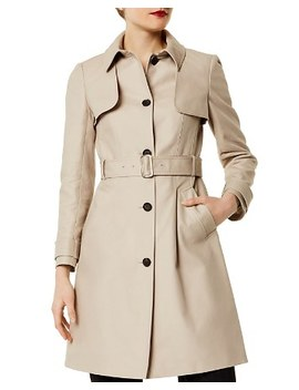 Single Breasted Trench Coat by Karen Millen